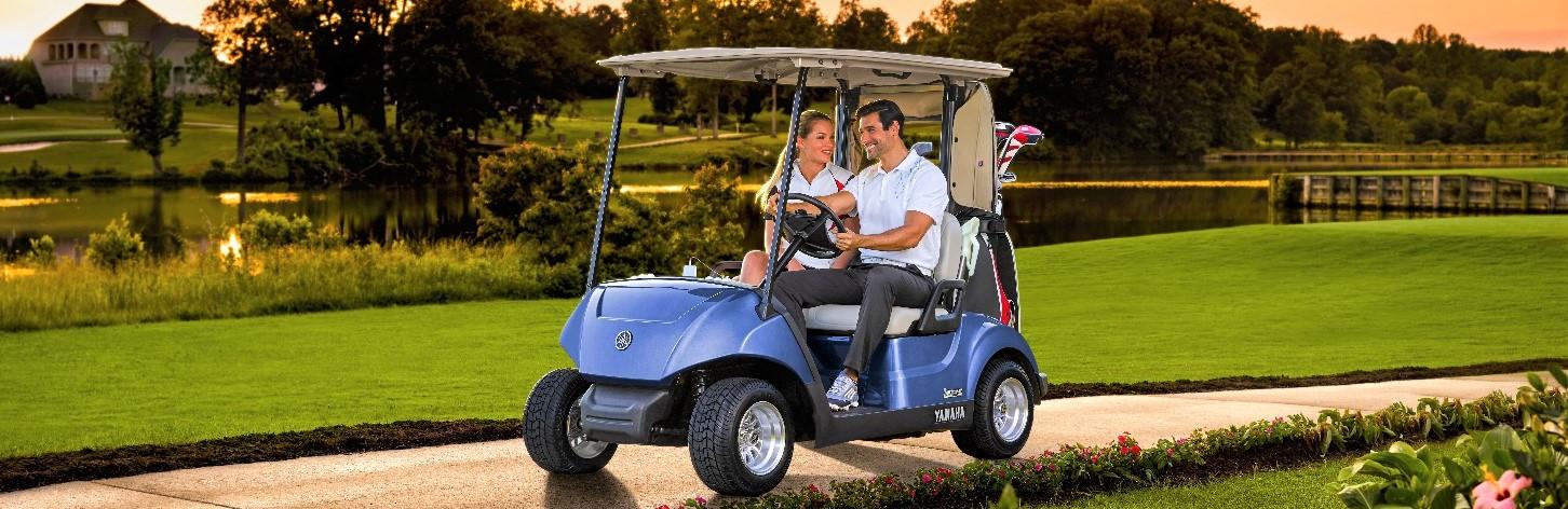 Yamaha 2 seater golfcart