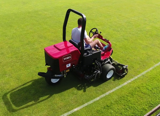 toro-reel-mowers-3100-at-sports-ground-management-in-india
